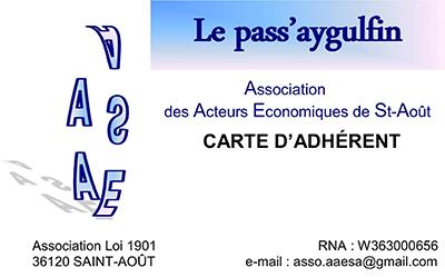 carte adherent